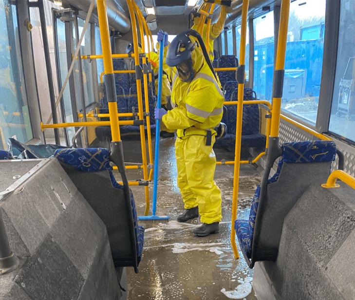 Buss sanering i malmö